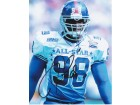 Jessie Armstead Signed - Autographed New York Giants 8x10 PRO BOWL Photo - Guaranteed to pass PSA or JSA