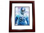 Jessie Armstead Signed - Autographed New York Giants 8x10 PRO BOWL Photo MAHOGANY CUSTOM FRAME - Guaranteed to pass PSA or JSA