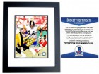 Jerome Bettis Signed - Autographed Pittsburgh Steelers 8x10 inch Photo BLACK CUSTOM FRAME - Beckett BAS Certificate of Authenticity (COA) Not PSA JSA