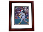 Jose Canseco Signed - Autographed Oakland A's 8x10 inch Photo MAHOGANY CUSTOM FRAME - Guaranteed to pass PSA or JSA