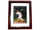 JD Drew Signed - Autographed St Louis Cardinals 8x10 inch Photo MAHOGANY CUSTOM FRAME - Guaranteed to pass PSA or JSA