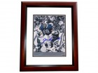 Joe DeLamielleure Signed - Autographed Buffalo Bills 8x10 inch Photo MAHOGANY CUSTOM FRAME - Guaranteed to pass PSA or JSA