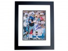 Joe DeLamielleure Signed - Autographed Buffalo Bills 8x10 inch Photo BLACK CUSTOM FRAME - Guaranteed to pass PSA or JSA with Hall of Fame Inscription