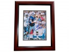 Joe DeLamielleure Signed - Autographed Buffalo Bills 8x10 inch Photo MAHOGANY CUSTOM FRAME - Guaranteed to pass PSA or JSA with Hall of Fame Inscription