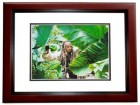 Johnny Depp Signed - Autographed Pirates of the Caribbean 11x14 inch Photo MAHOGANY CUSTOM FRAME - Guaranteed to pass PSA or JSA