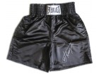 Joe Frazier Signed Black Everlast Trunks