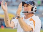 John Fox Signed - Autographed Denver Broncos 8x10 Photo