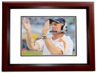 John Fox Signed - Autographed Denver Broncos 8x10 inch Photo MAHOGANY CUSTOM FRAME - Guaranteed to pass PSA or JSA