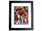 Josh Freeman Autographed Tampa Bay Buccaneers 11x14 Throwback Photo BLACK CUSTOM FRAME