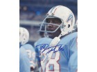 Jimmie Giles Signed - Autographed Houston Oilers 8x10 inch Photo - Guaranteed to pass PSA or JSA