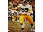 Jack Ham Signed - Autographed Pittsburgh Steelers 16x20 inch Photo with Witnessed JSA Certificate of Authenticity (COA)
