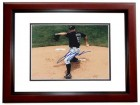 Josh Johnson Signed - Autographed Florida Marlins 8x10 Photo MAHOGANY CUSTOM FRAME