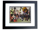 Johnny Knox Signed - Autographed Chicago Bears 8x10 inch Photo BLACK CUSTOM FRAME - Guaranteed to pass PSA or JSA