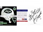 Joe Namath Signed - Autographed - Personalized TO BERT - Hardcover Book and DVD with PSA/DNA Certificate of Authenticity (COA) - New York Jets