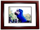 Jack Nicklaus Signed - Autographed B+W Golf 11x14 inch Photo MAHOGANY CUSTOM FRAME - The Golden Bear - JSA Certificate of Authenticity