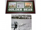 Jack Nicklaus Signed - Autographed B+W Vintage Golf 8x10 inch Photo with Deluxe GOLDEN BEAR Custom Frame - Online Authenitcs Authenticity Sticker