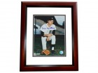 Joe Niekro Signed - Autographed Detroit Tigers 8x10 inch Photo MAHOGANY CUSTOM FRAME - Guaranteed to pass PSA or JSA - Deceased