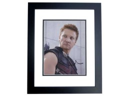 Jeremy Renner Signed - Autographed AVENGERS 8x10 inch Photo BLACK CUSTOM FRAME - Guaranteed to pass PSA or JSA