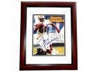 Jerry Rice Signed - Autographed San Francisco 49ers 11x14 inch Photo MAHOGANY CUSTOM FRAME - JSA Certificate of Authenticity