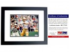 Joe Theismann Signed - Autographed Notre Dame Fighting Irish 8x10 inch Photo BLACK CUSTOM FRAME - PSA/DNA Certificate of Authenticity (COA)