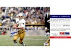 Joe Theismann Signed - Autographed Notre Dame Fighting Irish 8x10 inch Photo - College Hall of Fame Member - PSA/DNA Certificate of Authenticity (COA)
