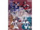 Johnny Unitas Signed - Autographed Baltimore Colts 8x10 Photo (with Dan Marino, Joe Montana, and John Elway)