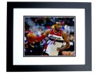 John Wall Signed - Autographed Washington Wizards 8x10 Photo BLACK CUSTOM FRAME