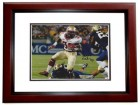 James Wilder Jr Signed - Autographed Florida State Seminoles 8x10 Photo MAHOGANY CUSTOM FRAME - 2013 National Champions