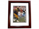 Jackie Slater Signed - Autographed Los Angeles Rams 8x10 inch Photo MAHOGANY CUSTOM FRAME - Guaranteed to pass PSA or JSA