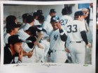 Reggie Jackson (New York Yankees) Signed 16x20 Photo (Tape Residue on the Edges)