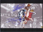 Lebron / Nowitzki, Dirk James Signed 8x10 Photo By Lebron James and Dirk Nowitzki