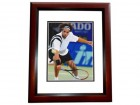 James Blake Signed - Autographed Tennis 8x10 inch Photo MAHOGANY CUSTOM FRAME - Guaranteed to pass PSA or JSA