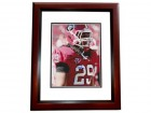 Jarvis Jones Signed - Autographed Georgia Bulldogs 8x10 Photo MAHOGANY CUSTOM FRAME - Drafted by the Pittsburgh Steelers
