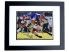 Jarvis Jones Signed - Autographed Georgia Bulldogs 8x10 Photo BLACK CUSTOM FRAME - Drafted by the Pittsburgh Steelers