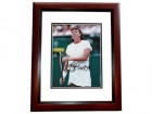 Jennifer Capriatti Signed - Autographed Tennis 8x10 inch Photo MAHOGANY CUSTOM FRAME - Guaranteed to pass PSA or JSA