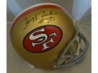 Jerry Rice Autographed Helmet