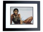 Jessica Gomes Signed - Autographed Sports Illustrated Swimsuit Model 11x14 inch Photo BLACK CUSTOM FRAME - Guaranteed to pass PSA or JSA
