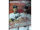 Derek / Damon, Johnny Jeter Signed Sport Illustrated Magazine 4/4/05 by Derek Jeter and Johnny Damon
