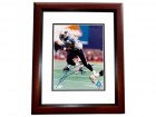 Jevon Kearse Signed - Autographed Tennessee Titans 8x10 inch Photo MAHOGANY CUSTOM FRAME - Guaranteed to pass PSA or JSA