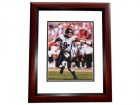 Jim McMahon Signed - Autographed Chicago Bears 8x10 inch Photo MAHOGANY CUSTOM FRAME - Guaranteed to pass PSA or JSA