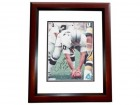 Jim Otto Signed - Autographed Oakland Raiders 8x10 inch Photo MAHOGANY CUSTOM FRAME - Guaranteed to pass PSA or JSA