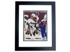 Jimmy Smith Signed - Autographed Jacksonville Jaguars 8x10 inch Photo BLACK CUSTOM FRAME - Guaranteed to pass PSA or JSA