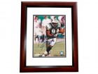John Abraham Signed - Autographed New York Jets 8x10 inch Photo MAHOGANY CUSTOM FRAME - Guaranteed to pass PSA or JSA
