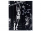 Marques Johnson (Milwaukee Bucks) Signed B&W 8x10 Photo