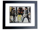 Jonas Brothers Signed - Autographed 11x14 inch Photo BLACK CUSTOM FRAME - Guaranteed to pass PSA or JSA - Nick, Kevin, and Joe Jonas