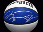 Michael Jordan Signed Wilson Indoor/Outdoor ABA League Basketball