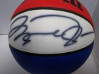 Michael Jordan Signed ABA Basketball (Signature Bled)
