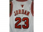 Michael Jordan (Chicago Bulls) Signed Nike Replica Jersey (Size Large)