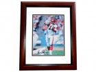 Ken Anderson Signed - Autographed Cincinnati Bengals 8x10 inch Photo MAHOGANY CUSTOM FRAME - Guaranteed to pass PSA or JSA