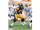 Kendrell Bell Signed - Autographed Pittsburgh Steelers 8x10 inch Photo - Guaranteed to pass PSA or JSA - 2001 Rookie of the Year